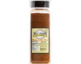 Ole Man's Spice Rub & Seasoning - Mediterranean Blend 1.25lb 20 oz.. Free Shipping