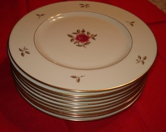 Lenox Rhodora Dinner Plates, Set of 10