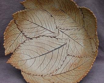 Hydrangea Leaf Bowl