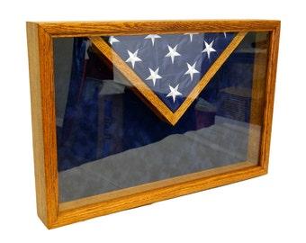 Custom Shadow Box with Flag Display