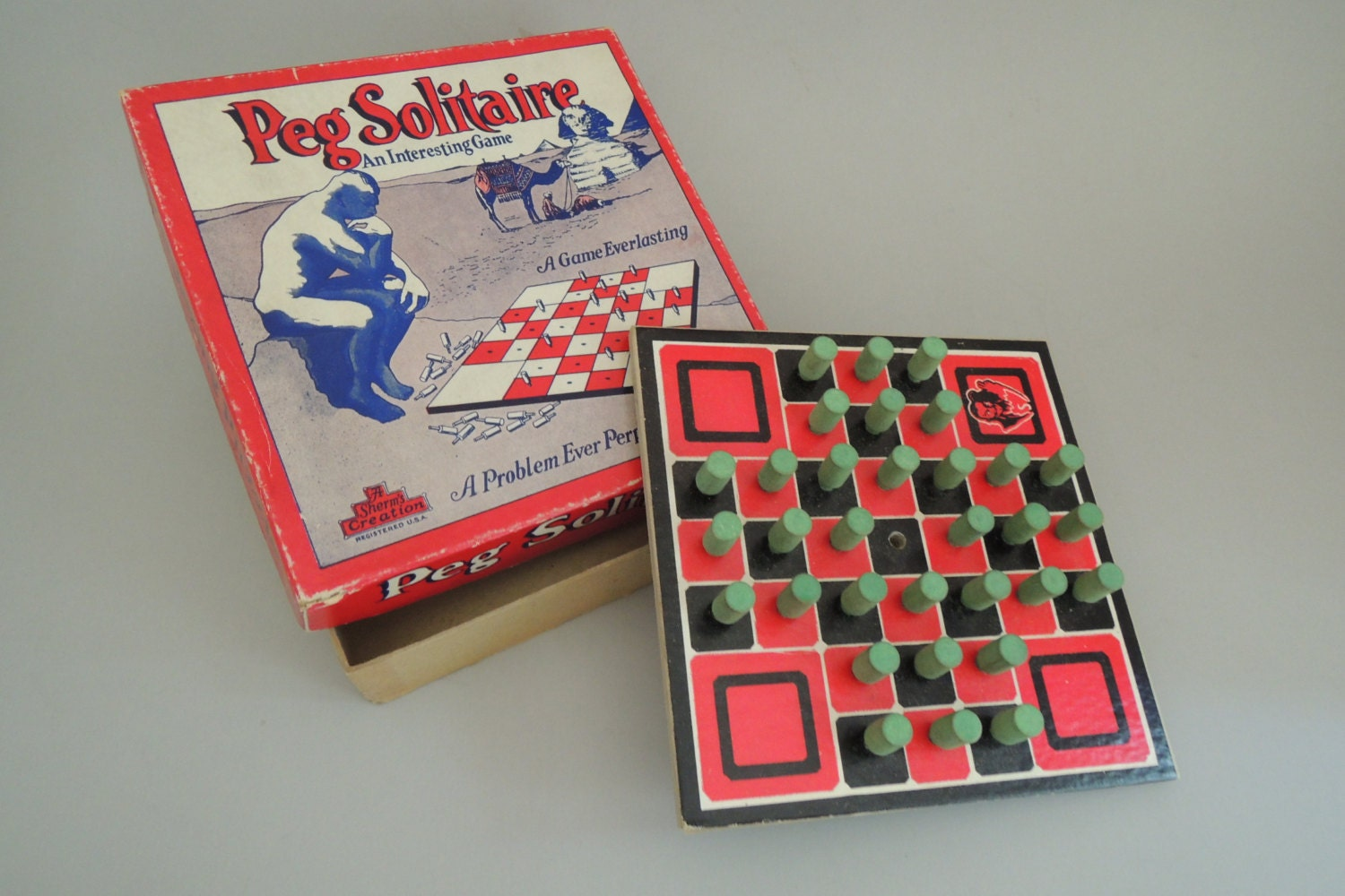 how to win peg board game
