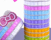 100PCS 12X12mm Candy colors Glass Gemstone Chip flatback Crystal Jewelry for DIY Phone Case Deco, 15colors Optional