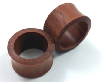 Pair of Saba Tunnel Wood Plugs