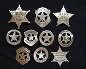 10 BADGES The Marshal Collection (Marshals and Deputy Marshals)
