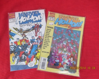 MARVEL HOLIDAY SPECIALS # 1 Bagged never Opened Mint Bagged never Opened Mint Box 7