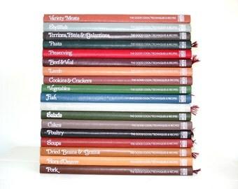 Vintage Cookbooks Time Life Books The Good Cook 20 Volume Set Cookbooks