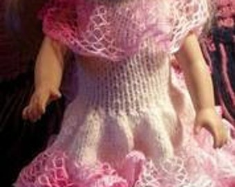 "Southern Belle Dress for 18"" Dolls"