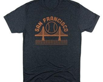 San Francisco Giants Black Mens Tee