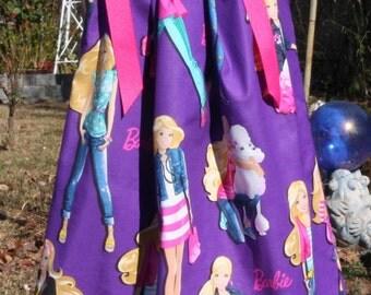 A Boutique Pillowcase Dress featuring Barbie: CH058Last one-