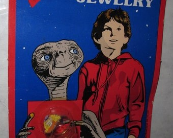 vintage et e.t. the extraterrestrial jewelry