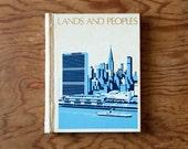 vintage handmade journal // hard bound journal