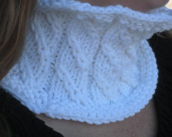 Christina Cowl Easy Knit Pattern PDF