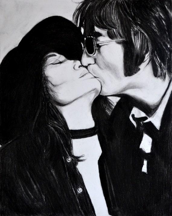 The Beatles Guardian Noticias - The Beatles Guardian News ... |Sketches John Lennon And Yoko Ono