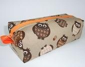 Pencil case Owls