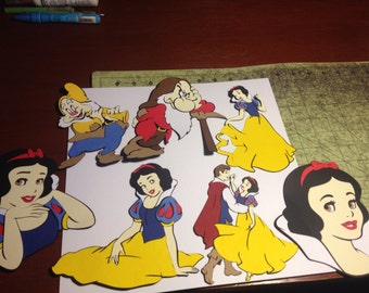 Snow White Die Cuts