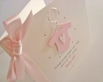 Baby Grow New Baby Congratulations Card