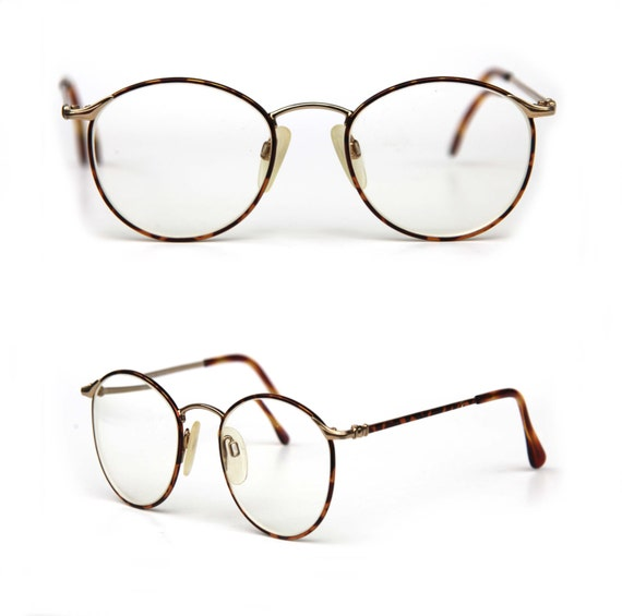 beverly hills 90210 torand brandon round steampunk wire rim eye glasses prescription eyewear