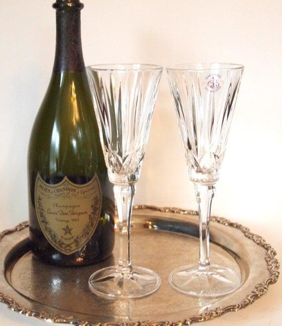 vintage champagne toast