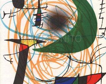 Miro Original Lithograph Vol 1-5