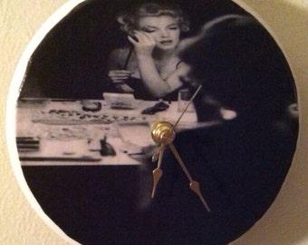 Marilyn Monroe Clock