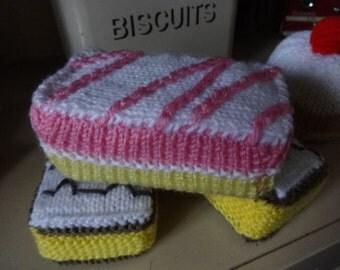 Campervan Tea Cosy Knitting Pattern : Caravan tea cosy cozy knitting pattern pdf camping retro