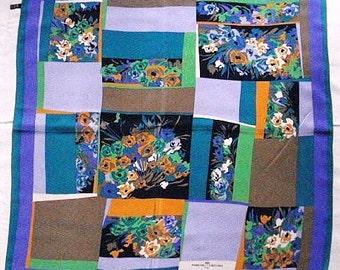 """Parfum Creatifs scarf, vintage, a perfume scarf, made for """"Parfum Creatifs"""", Paris. 1993."""
