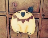 Sheep Cupboard Hanger/Ornament Love Ewe Valentine Hand Painted and Crafted