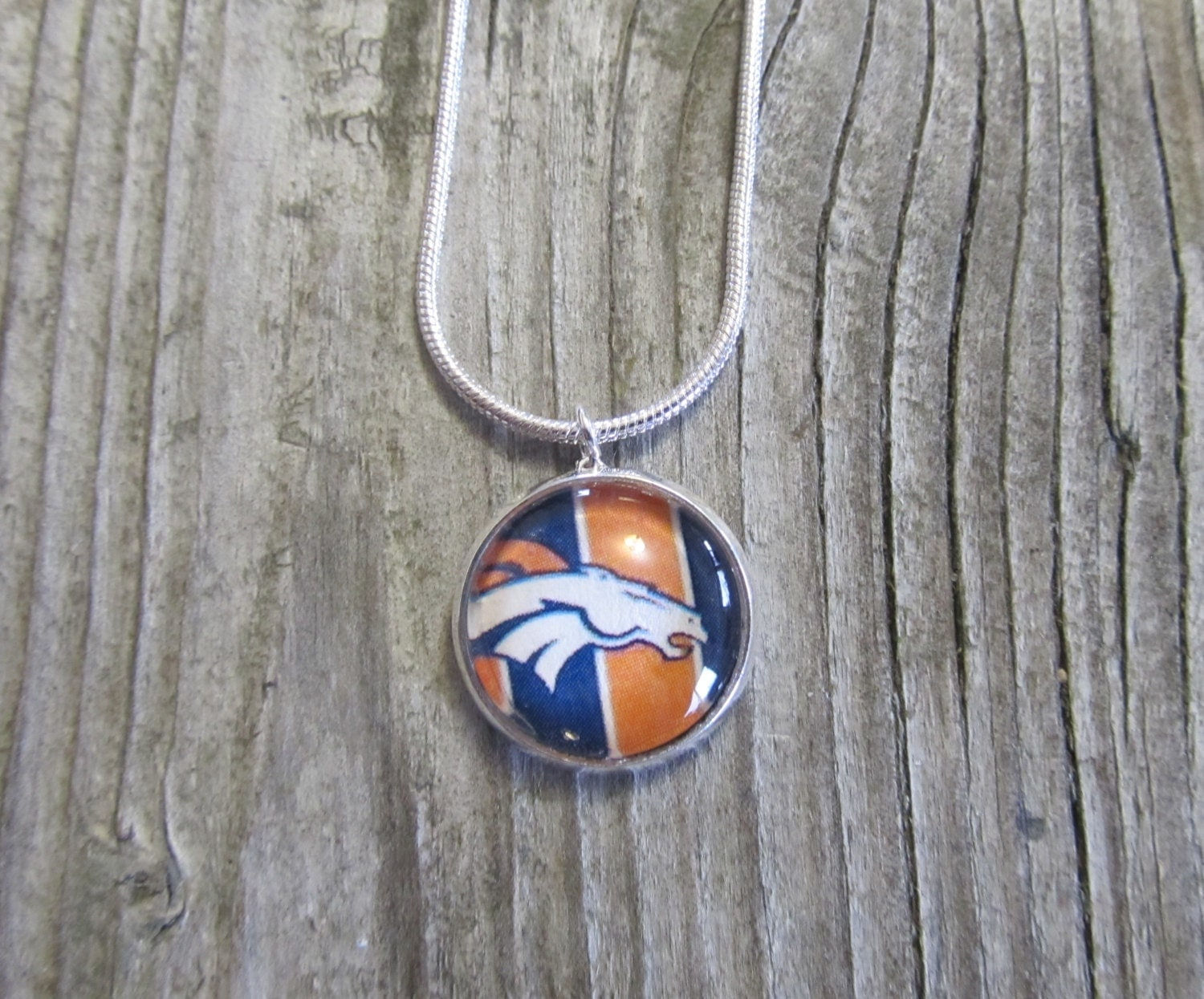 denver broncos necklace gift ideas for by montanamagic