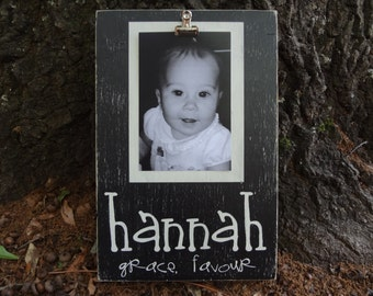 Child's Hand Painted Name Frame