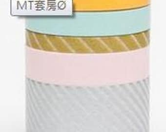 mt new suite Masking Tape /  Japanese Washi Masking Tape / mt new suite O / MT05S015 / 5 roll of set