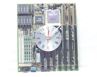 Motherboard Wall Clock, Geekery, Clocks by DanO