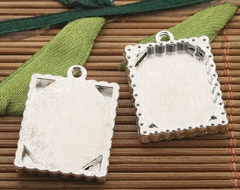 8pcs picture frame Rectangle Cab Setting (h3378 or h3379)