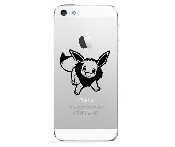iPhone 5 iPhone 4 Sticker Decal - Pokemon Evoli-2 copie