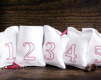 Christmas Countdown Calendar - Countdown to Christmas - Advent Calendar - Holiday Countdown