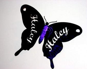 Custom Butterfly with Name