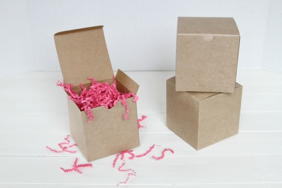 Gold Favor Boxes 4x4x4 : Kraft gift boxes x by fancy that loved catch my