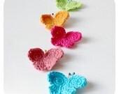 Butterflies Crochet Pattern PDF Instant Download