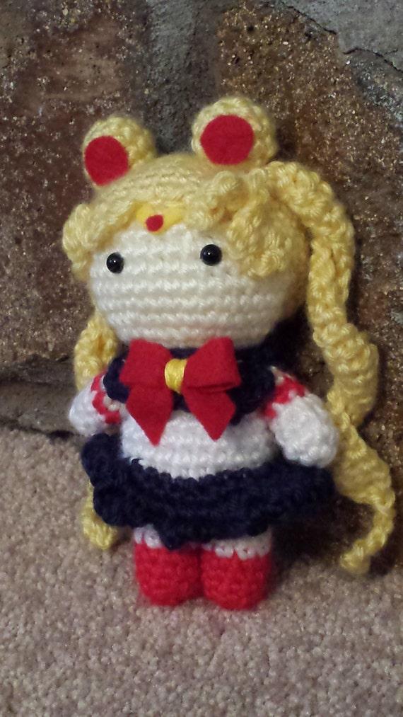 Amigurumi Seilor Moon : Sailor Moon Amigurumi by CherryBlossomCute on Etsy
