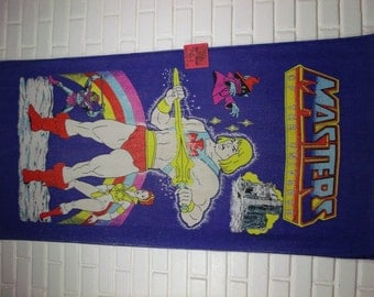 1985 Masters of the Universe Vintage beach towel