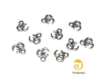 10 Om Charms for Jewelry Making, Scrapbooking