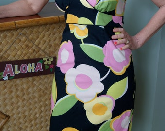 Tori Richard Hawaiian Sundress, Size Small