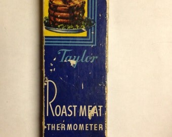 Taylor Roast Meat Thermometer Original Box Kitchen Utensils