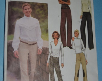 Butterick 3574 Misses Pants Sewing Pattern - UNCUT - Sizes 6 8 10 or Size 12 14 16