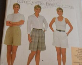 Simplicity 8062  Misses  Shorts Sewing Pattern - UNCUT _ Sizes12 14 16