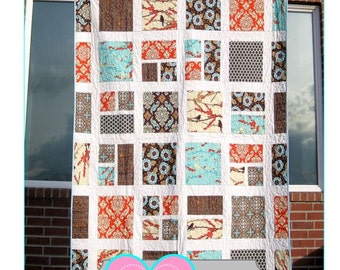 PDF Colonnade Quilt Pattern - Great for Beginners