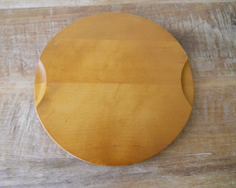 Round Woodcroftery Wood Trivet
