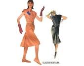 Vogue 1727 Claude Montana Dress Size 10 Bust 32.5 Vintage 80s Style Pattern Uncut