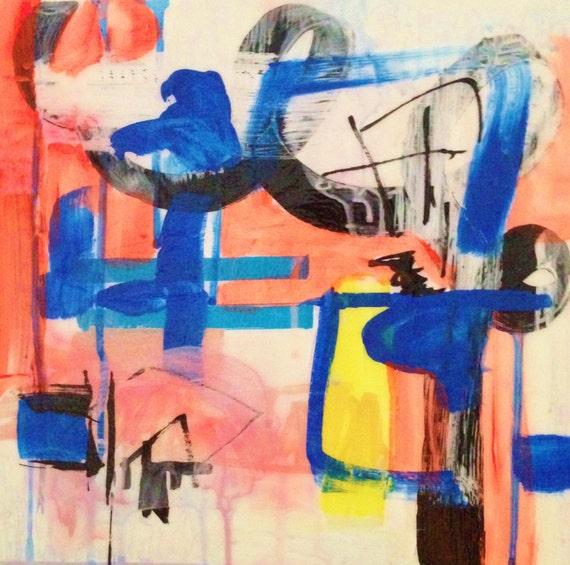 Abstract Painting - 'Masquerade Ball'