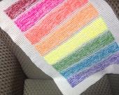 Rainbow Plush Blanket