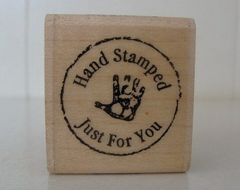 2002 Stampabilities Hand Stamped Just For You